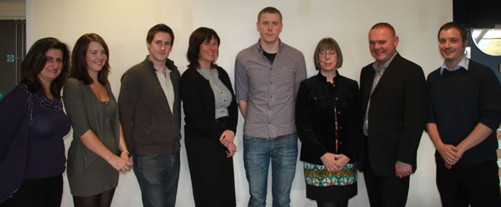 Members of the 'Children and young people with disabilities and their families, health and wellbeing research group'
